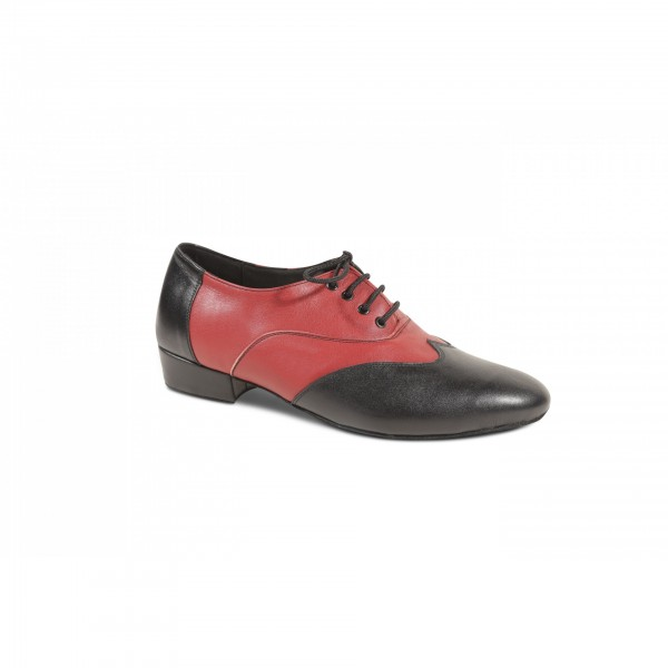 ARG 361 BLACK RED LEATHER